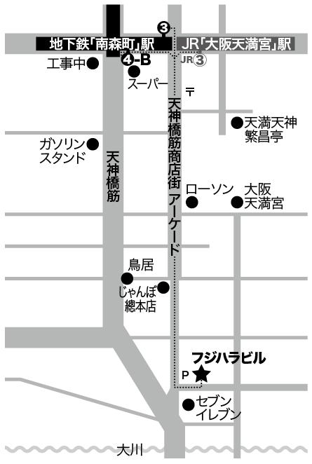 フジハラビル地図